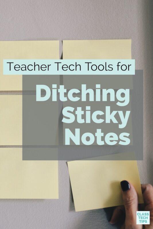 Sticky Note Alternatives