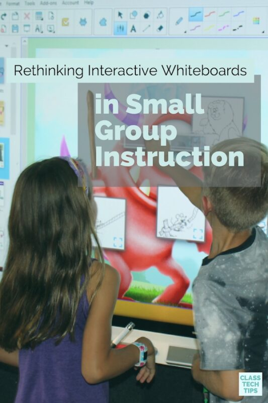 Whiteboards in Small Group