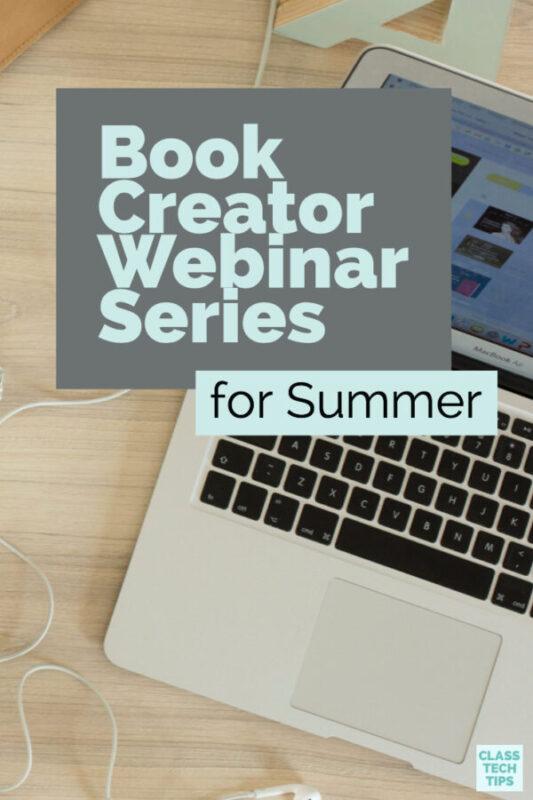 Book Creator Webinars