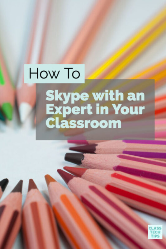 How To Skype with an Expert in Your Classroom 2