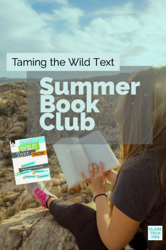 Taming the Wild Text Summer Book Club 5