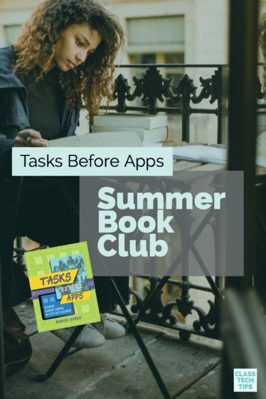 Tasks Before Apps Summer Book Club 4