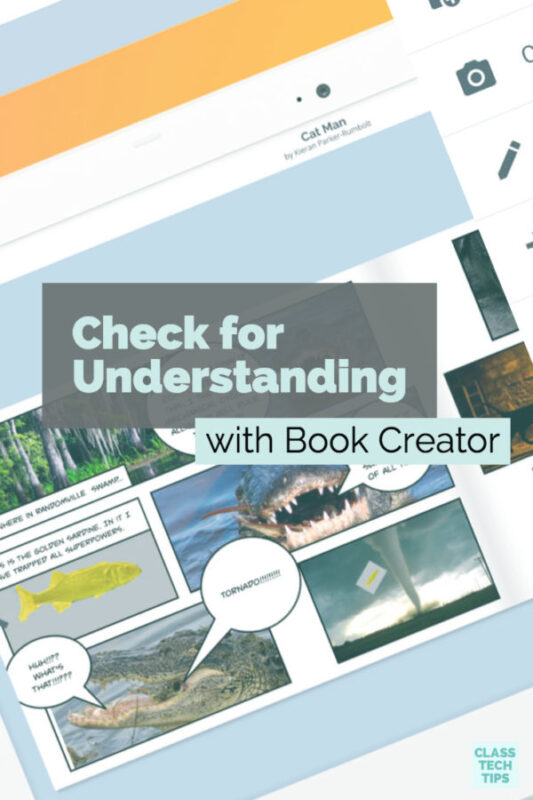 Check for Understanding with Book Creator