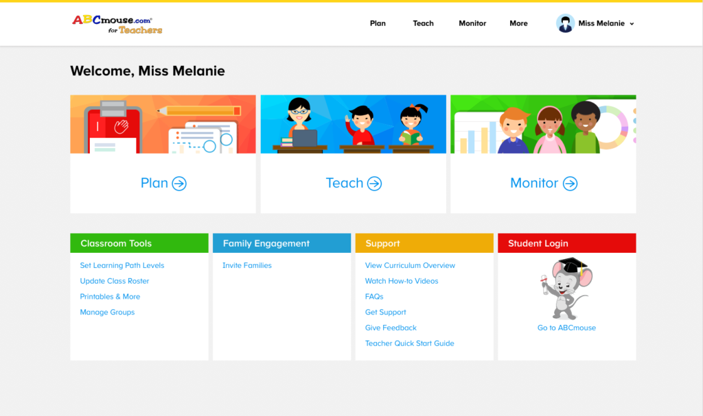 How ABCmouse Helps Teachers with Math Activities - Class