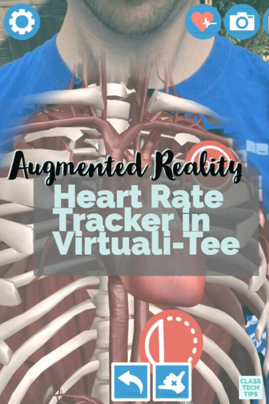 Augmented Reality Heart Rate Tracker in Virtuali-Tee