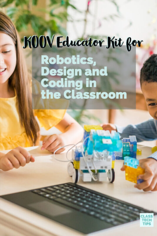 KOOV Educator Kit for Robotics, Design, and Coding in the Classroom 5