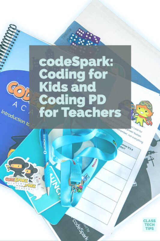 codeSpark Coding for Kids and Coding PD for Teachers 2