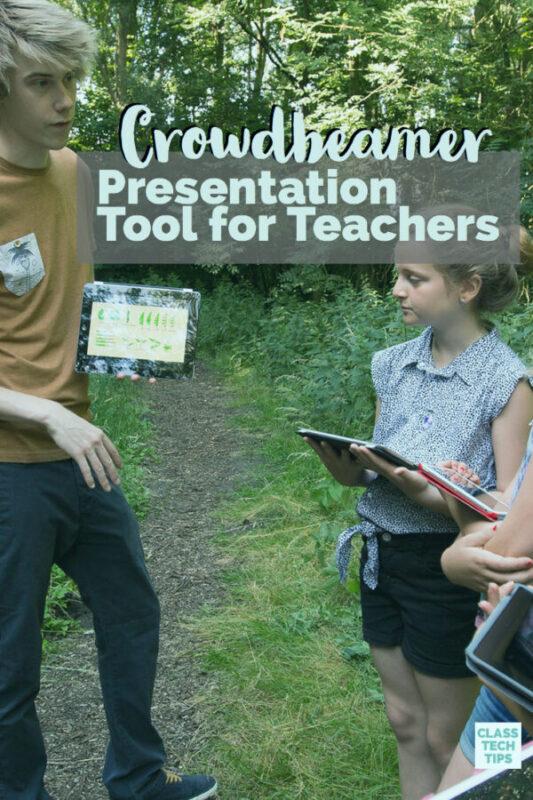 Crowdbeamer Presentation Tool for Teachers 3