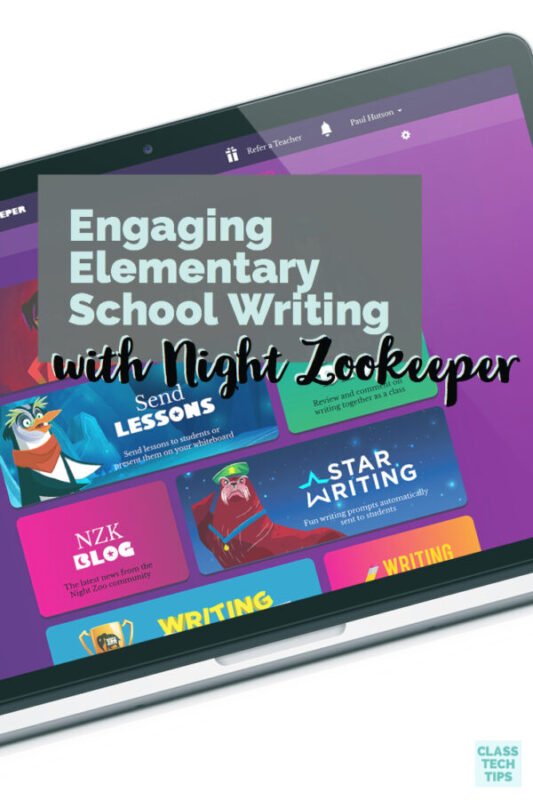 Engaging Elementary School Writing with Night Zookeeper