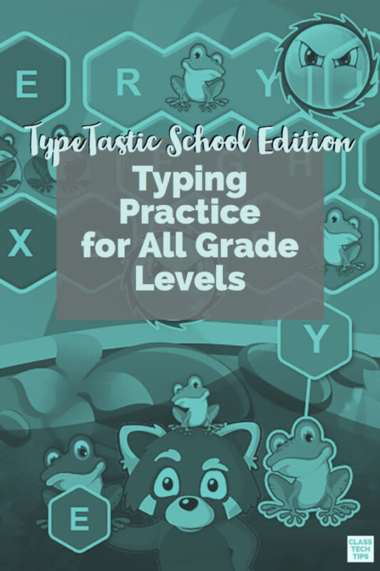 TypeTastic School Edition Typing Practice for All Grade Levels