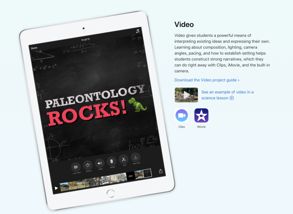 Free Technology Learning Resources from Apple - Class Tech Tips
