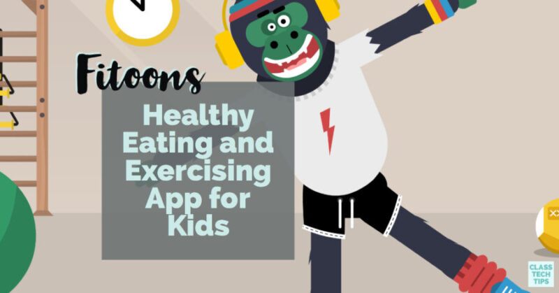 Fitoons is more than a Healthy Eating and Exercise App for