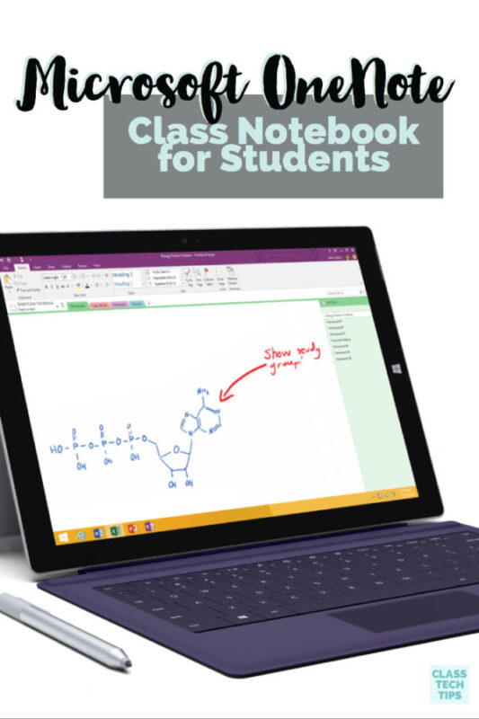 Microsoft OneNote Class Notebook for Students