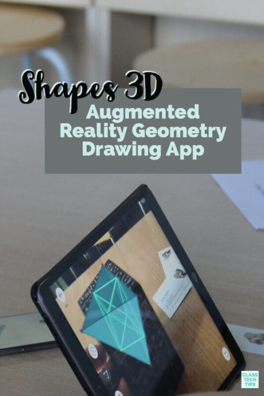 Shapes 3D Augmented Reality Geometry Drawing App 1
