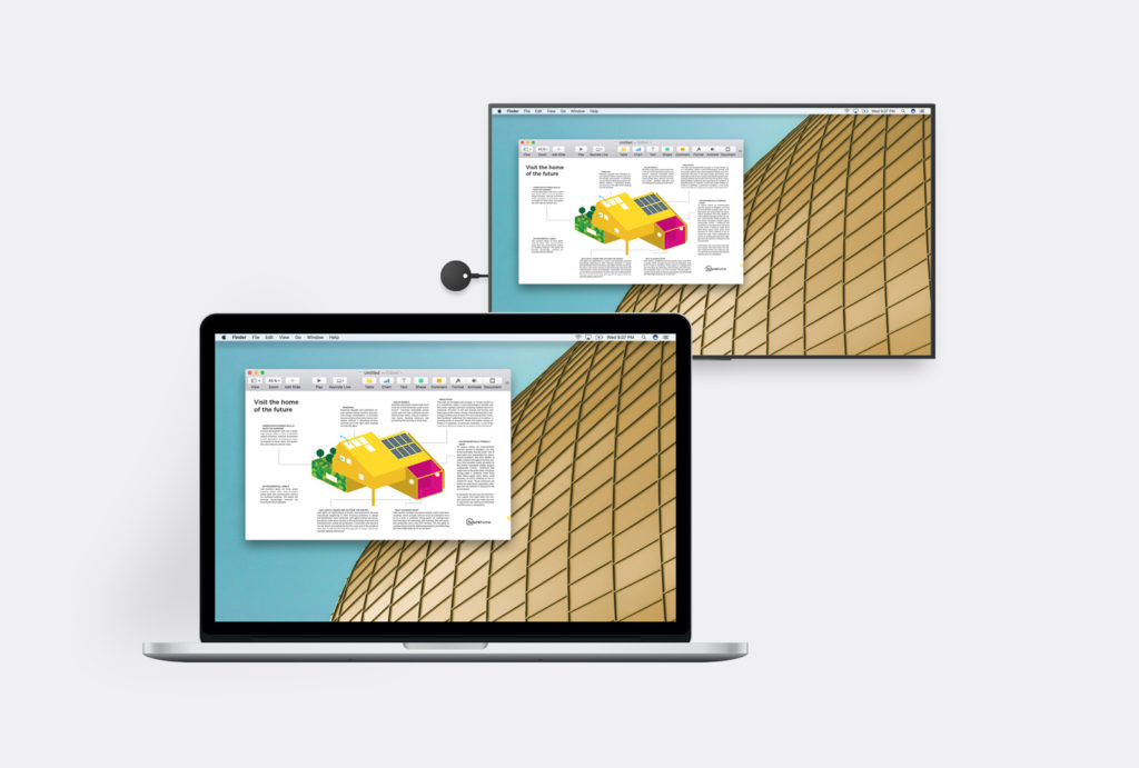 Sharing Your Screen in the Classroom: Go Wireless with