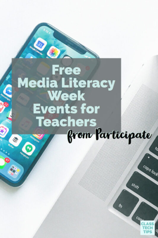 Free Media Literacy Week Events for Teachers