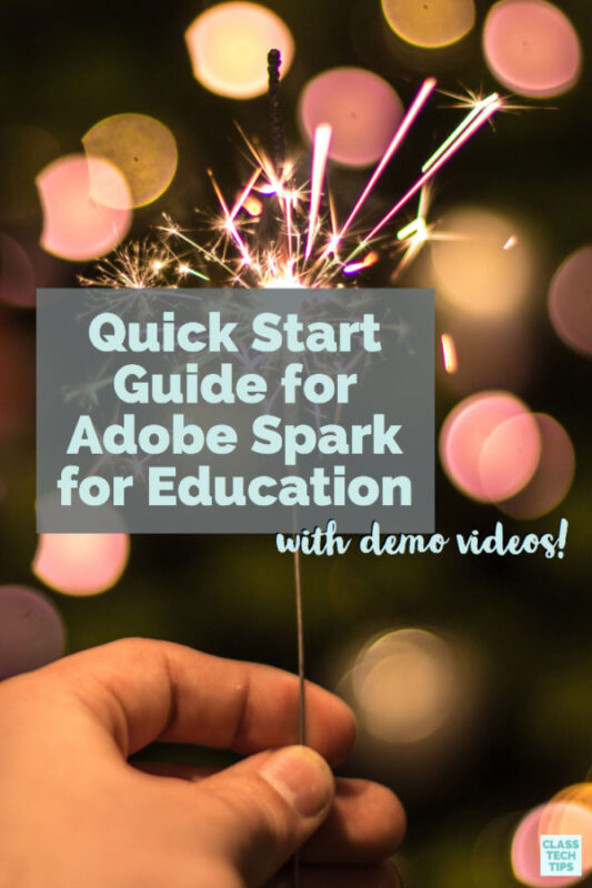 Getting Started with Adobe Spark for Education