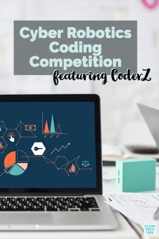 Cyber Robotics Coding Competition featuring CoderZ 2