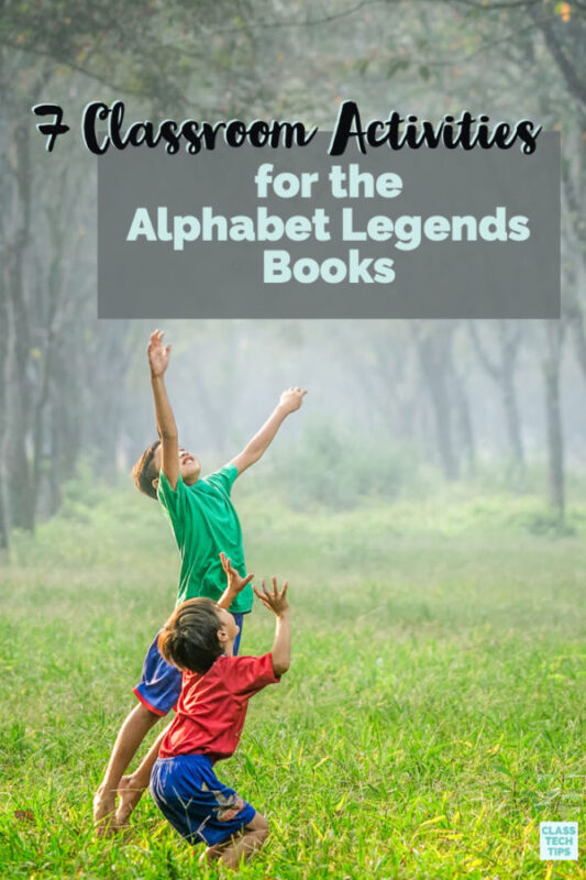 Learn how to use the ABC Books Alphabet Legends in your classroom with these lesson ideas for teachers.