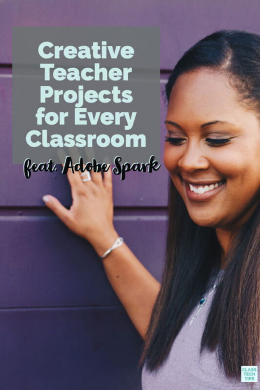 Learn how to use the Adobe Spark tools for creative Teacher Projects this school year. You can make posters, newsletters, slideshows and more!