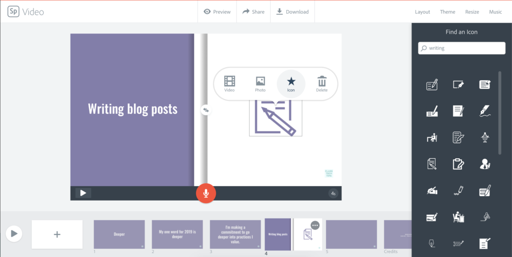 Learn how to use Spark Video for goal setting activities this school year. This free tool for teachers is a must-have for classrooms.