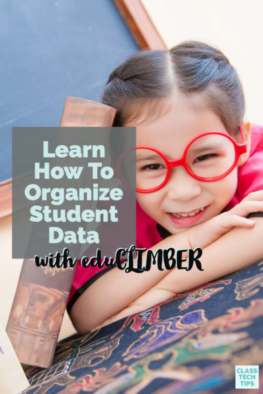 You can learn how to organize student data and visual student data using eduCLIMBER's interactive online platform. This EdTech tool supports RtI and PBIS.