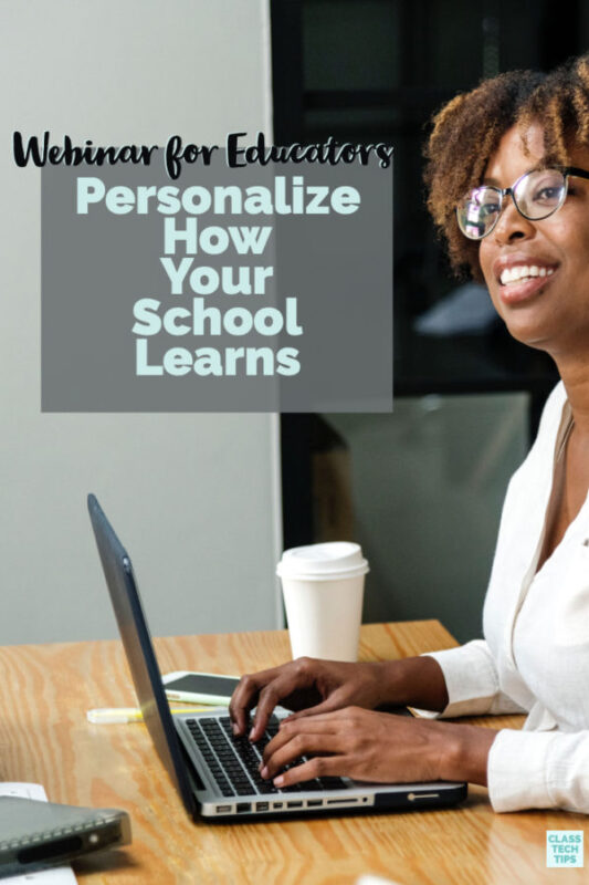 In this webinar for educators you'll learn how to personalize how your school learns by creating high-interest, engaging activities on a range of topics.