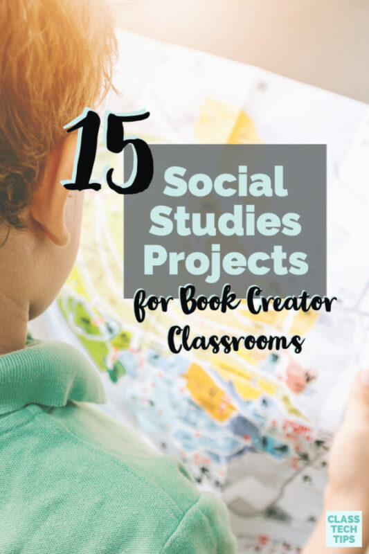 When the team at Book Creator and I started talking about resources for teachers, an ebook on Social Studies Projects seemed like the perfect fit!