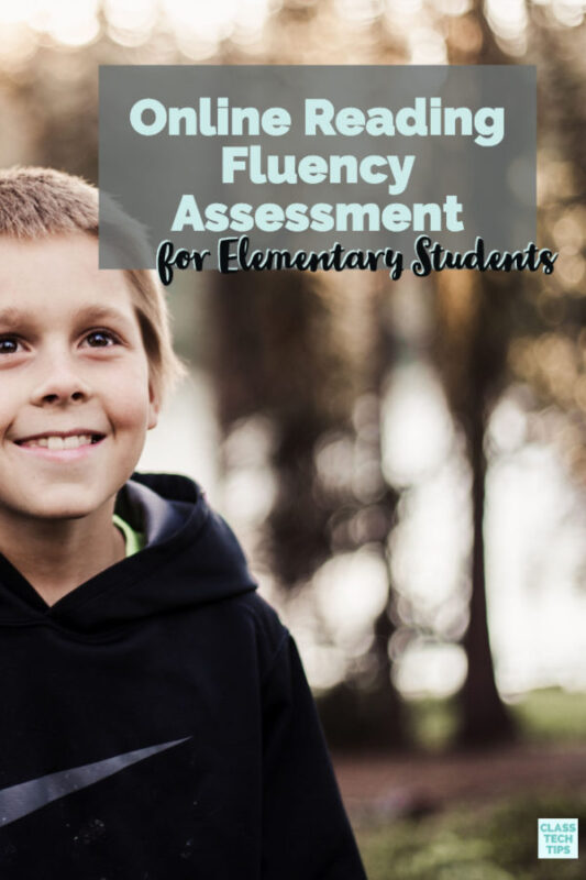 There is a powerful online reading fluency assessment designed specifically for elementary students that you can use in your classroom this school year.