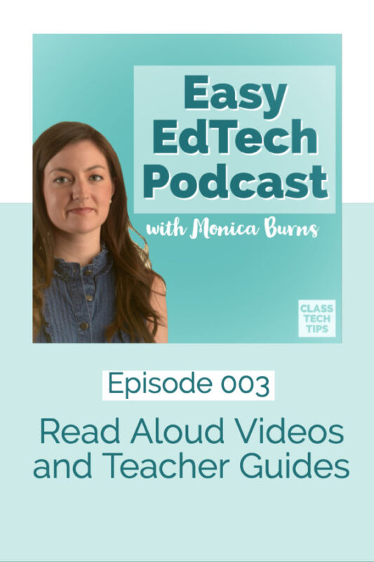 In this episode I share strategies for finding and using read aloud videos in your classroom. You'll hear how this multimedia resource can help students access high quality text, help you plan a lesson, and help families leverage the power of YouTube!