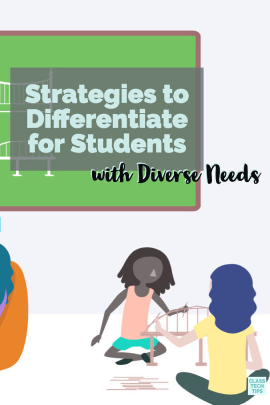 Learn how to differentiate instruction for students with diverse needs using the online platform Kiddom. They have a free ebook and lots of resources.