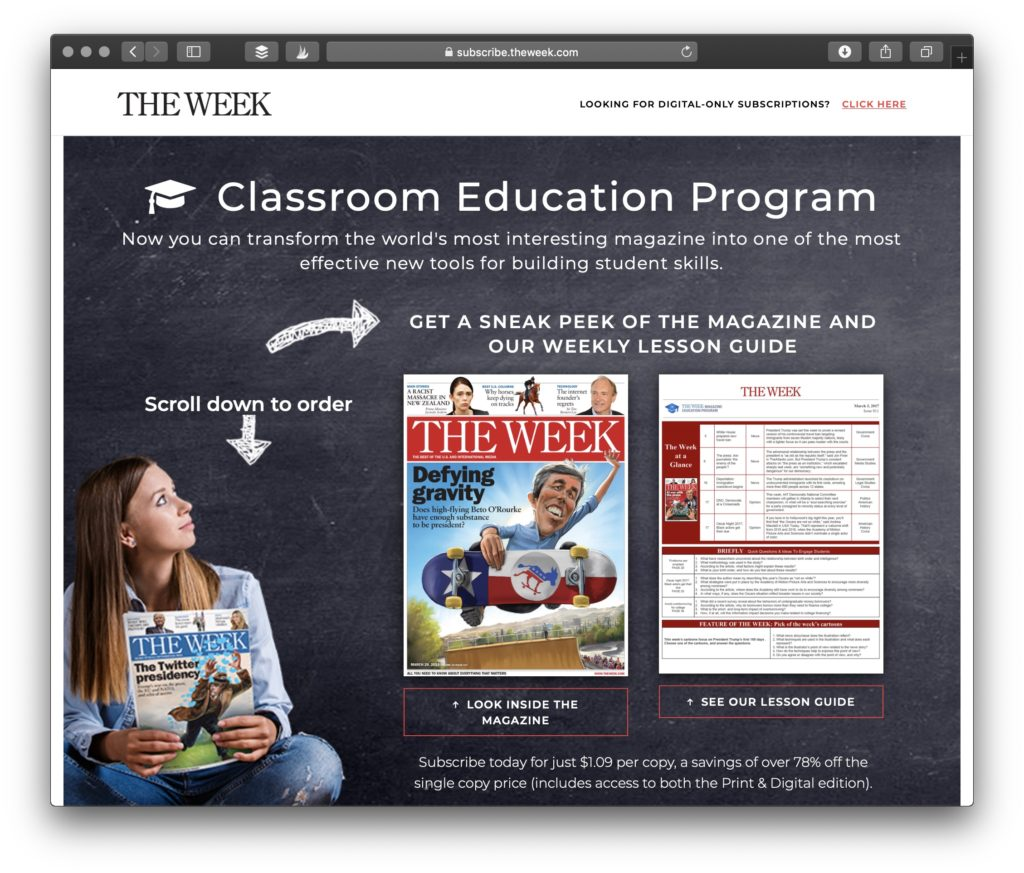 High School Current Events Articles with Teacher Resources