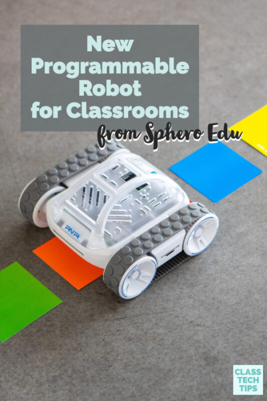 A new programmable robot for classrooms is here! Sphero Edu has created an amazing robot perfects for kids learning how to code!