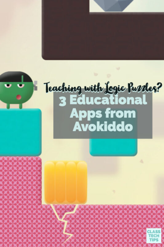 Learn how teaching with logic puzzles just became easier thanks to three powerful apps from Avokiddo. You'll find teaching tips for each one in this post!