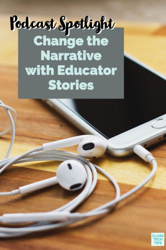 If you're ready to start learning from podcasts I have the perfect one for you to check out! Michael Hernandez shares educator stories in each episode.