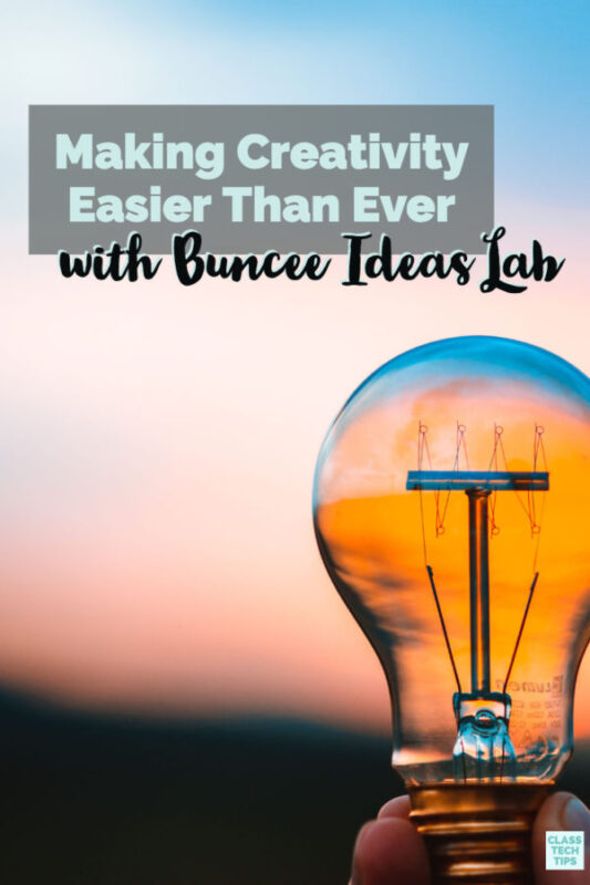 Have you heard the news? Buncee recently launched a brand new feature to help promote creativity in your classroom, Buncee Ideas Lab.