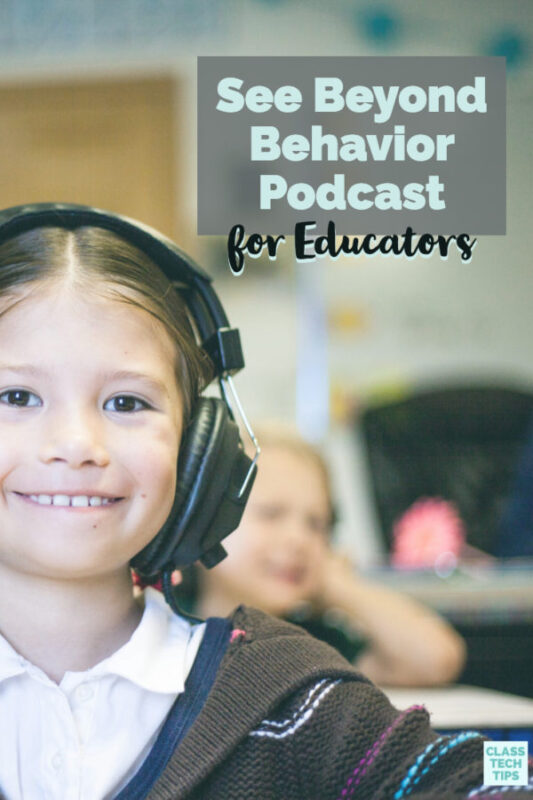 The See Beyond Behavior Podcast includes interviews and information on a variety of topics, led by behavior specialist Torri Wright.