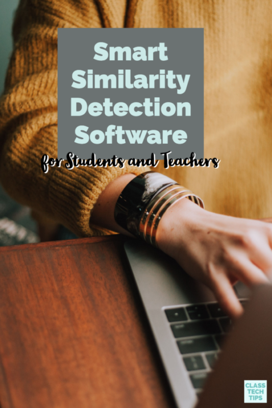 Have you used smart similarity detection software at your school? With the power of artificial intelligence, online tools can check for plagiarism.