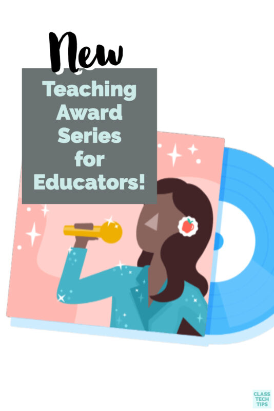 You can nominate any educator, including yourself, for one of four different awards in this teaching award series from Kiddom.