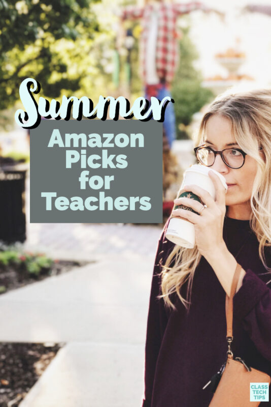 These Amazon teacher finds are perfect for your own summer professional learning, some fun gifts for fellow educators, and more!
