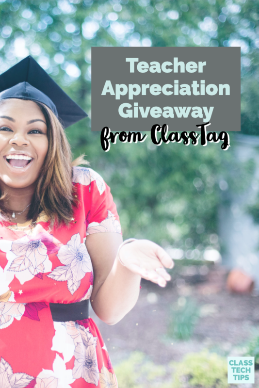 """There is still time to join in a Teacher Appreciation giveaway from my friends at ClassTag. Do you have any """"make it happen"""" moments to celebrate teachers?"""