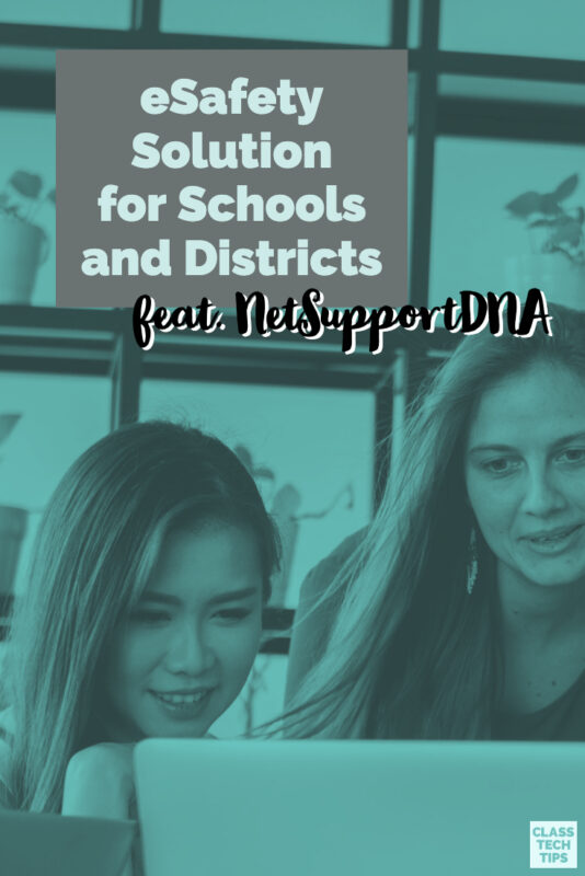 The team behind NetSupportDNA reached out to share some of the eSafety solutions they offer schools and I know you'll want to learn more about this!