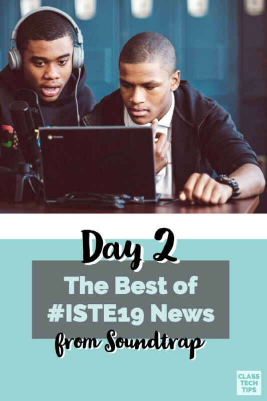 There is a new ISTE podcast full of the very best from this year's event. Make sure to tune into Soundtrap's new special feature!