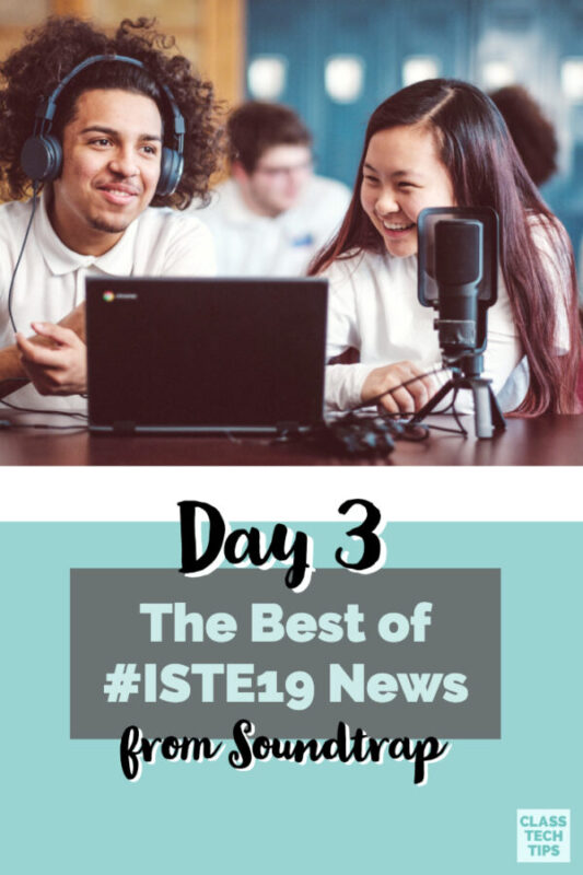 All of your Updates from the ISTE Conference are here in one place! Check out these three episodes from Spotify that share all the best from this week.