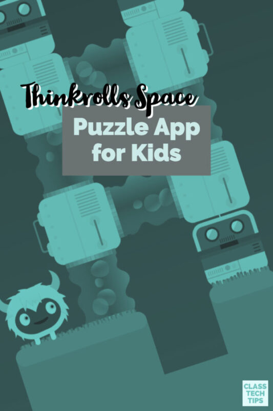 Have you heard the news? Thinkrolls Space is a kid-friendly puzzle app where colorful heroes take, and students have access to hundreds of mazes set across seven different planets.