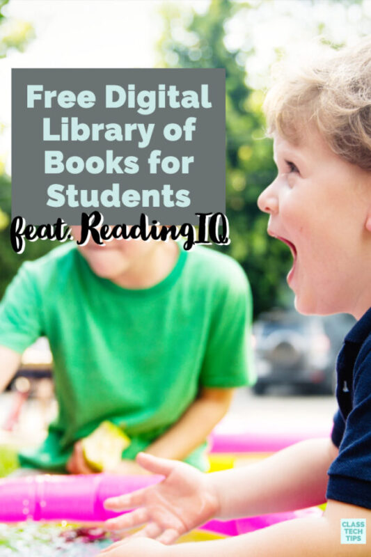 This free digital library full of books for your students to explore this school year. You will love the information text and literature ebooks for kids.