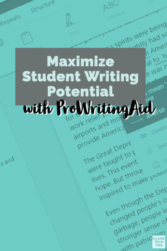 If you're looking to support student writing development this school year, ProWritingAid has an all-in-one platform for student writers.