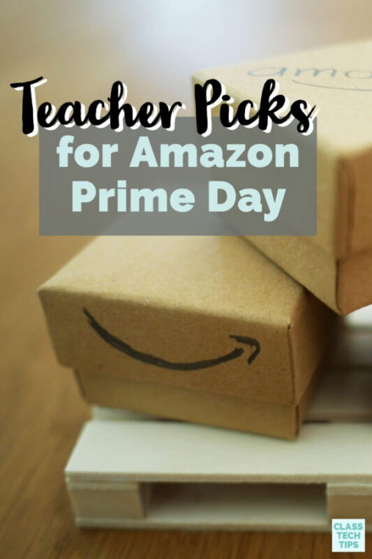 This Amazon Prime Day I have a few teacher picks for you! These classroom wishlist items and book recommendations might come in handy today.
