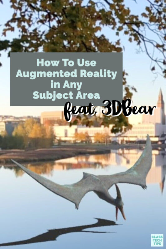 If you've wondered how to use augmented reality in your classroom, here are a handful of ideas and a fantastic back-to-school promotion to get you started.