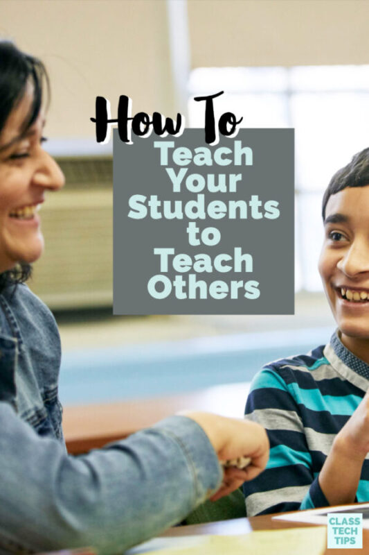 Learning by teaching (aka the protégé effect) is an underutilized strategy with significant results. Check out a startegy to transform your teaching!
